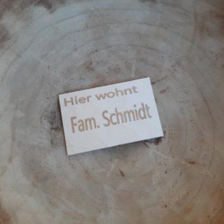 Türschild_Name