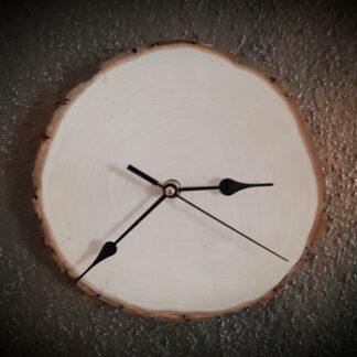 Baumscheibe als Wanduhr_19cm