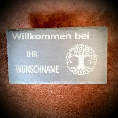 Türschild_Schiefer